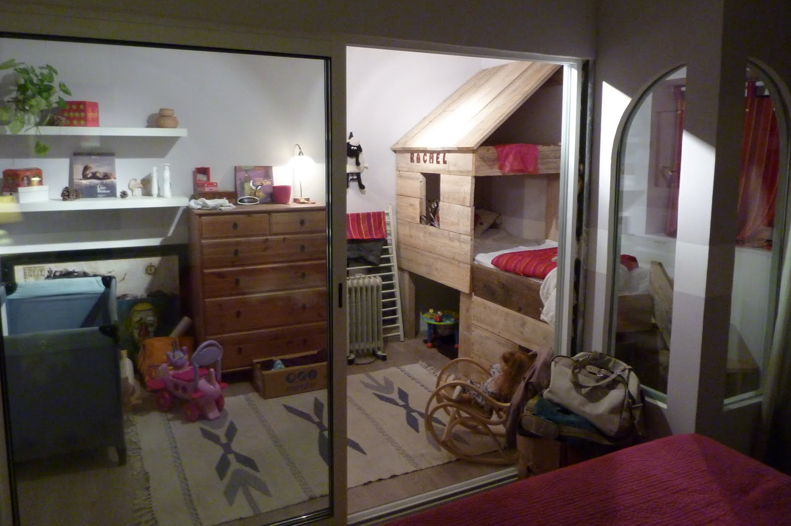 Verri re int rieure am nagement d 39 une chambre d 39 enfant for Amenagement chambre d enfant
