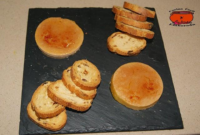 Cocina facil y elaborada foie caramelizado tapas gourmet for Canal cocina tapas