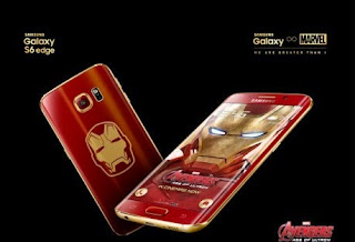 Hp Android, samsung galaxy s6 edge iron man,