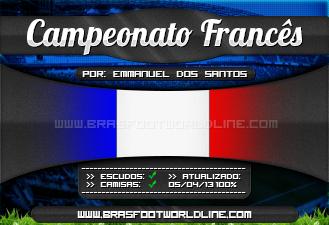 Fran%C3%A7a Patch França Oficial   Brasfoot 2013