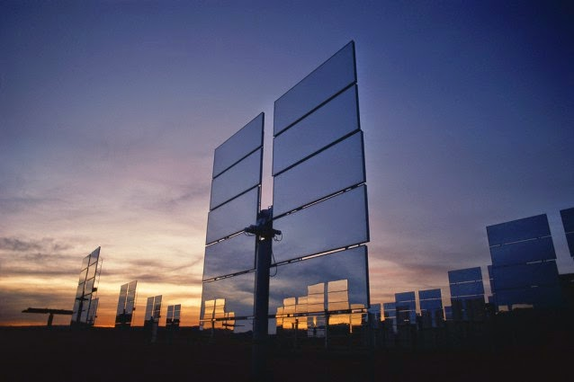 Solar panels (Credit: Shutterstock) Click to Enlarge.