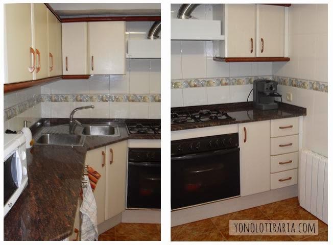 Mi cocina. Antes y después. Argh - Yonolotiraria | Yonolotiraria