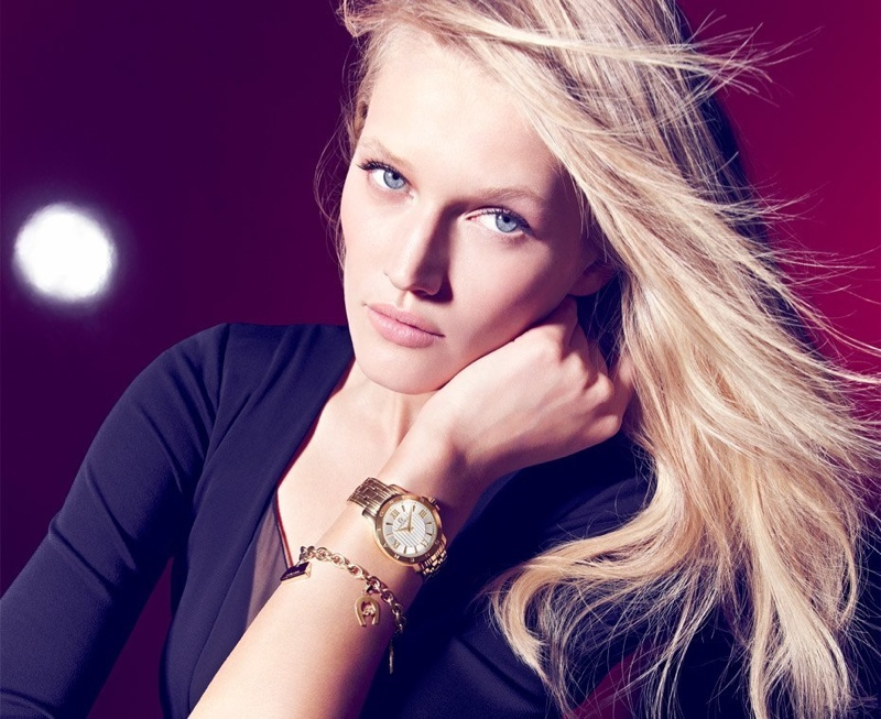 Aigner Fall/Winter 2015 Campaign featuring Toni Garrn