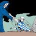 To σκίτσο που σοκάρει:Το χέρι που τραβά από τον τάφο το τέρας του ναζισμού στην Ελλάδα