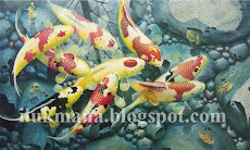 koi painting