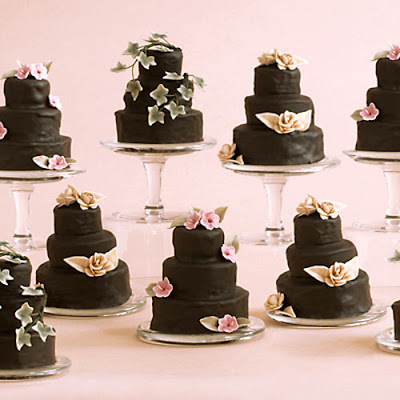 mini cakes wedding