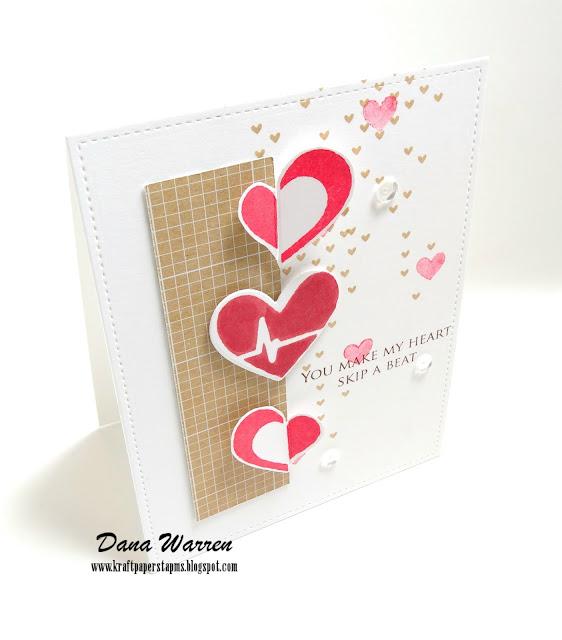 Dana Warren - Kraft Paper Stamps - Simon Says Stamp