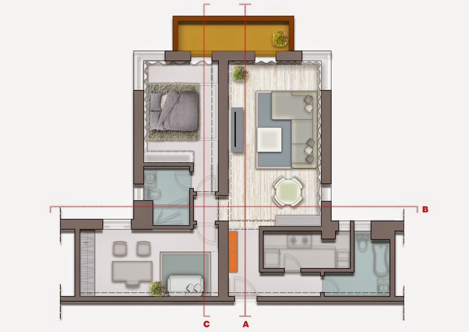 Cosmopolitan shanghai apartment design ideas best of for Cosmopolitan home designs