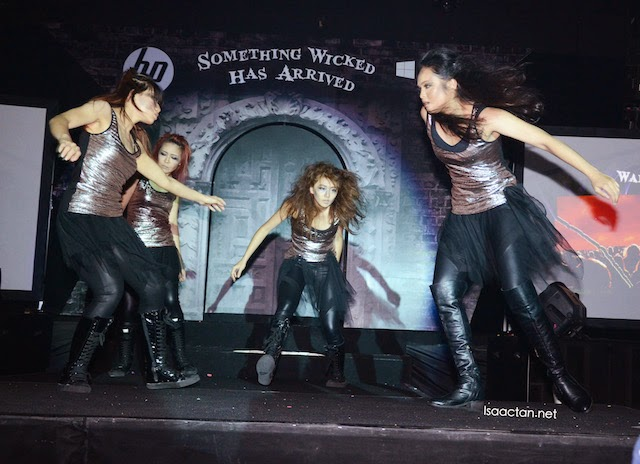 The undead prancing around on stage