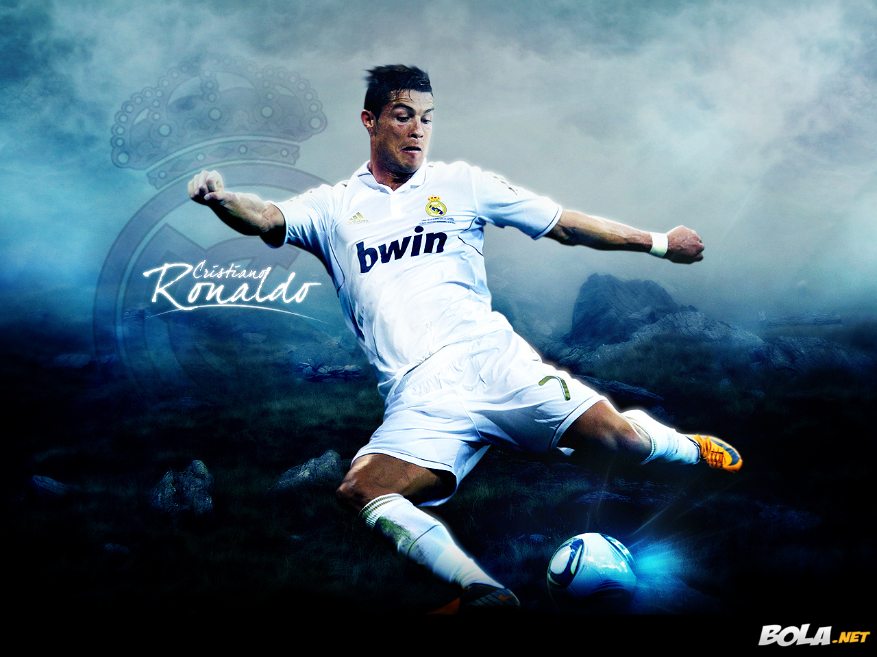 all sports superstars: cristiano ronaldo hd wallpapers 2012