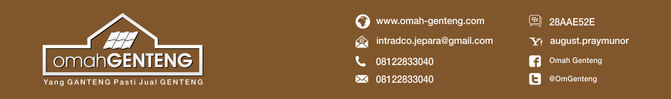TEL/SMS/WA: 081-2283-3040 | Genteng Kodok | Genteng Kodok Kaca | Genteng Press Kodok