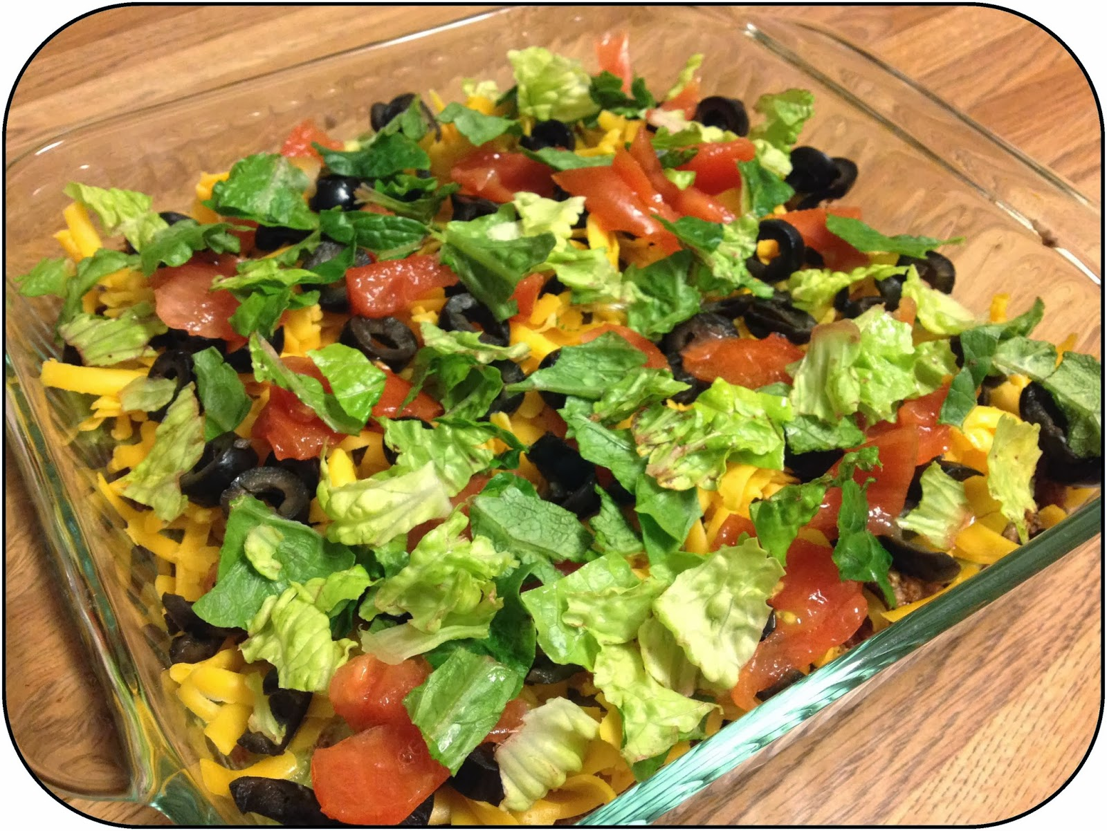 8 layer dip ~ Life in Random Bits #recipe #party #dip #mexican