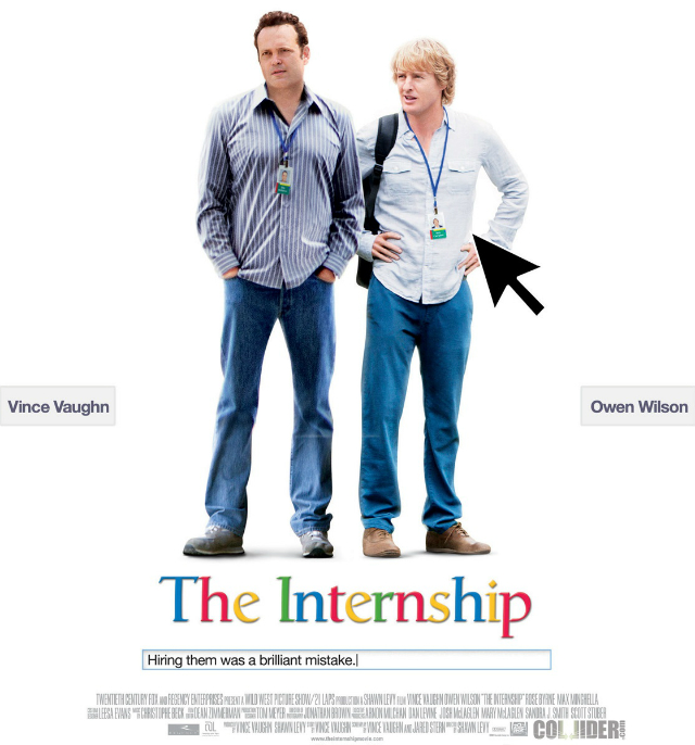 """The Internship"" la película"
