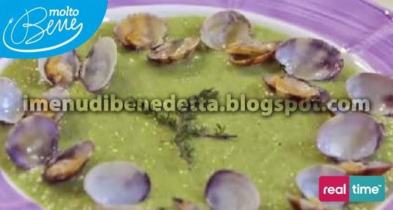 Crema di zucchine con Vongole Suatèdi Benedetta Parodi
