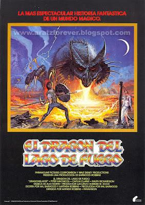 El dragón del lago de fuego, Disney, Filmayer, Peter MacNicol, Matthew Robbins, Caitlin Clarke