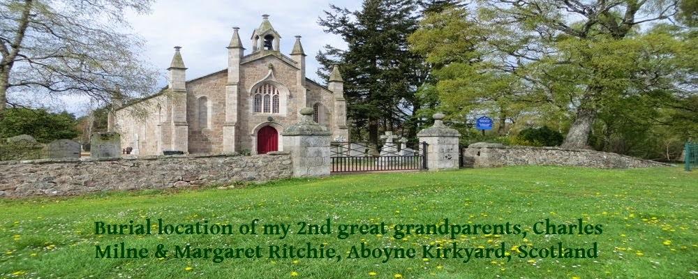 Aboyne Kirkyard in Scotland