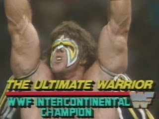 WWE/WWF SUMMERSLAM 1988: The Ultimate Warrior won the Intercontinental Championship from The Honky Tonk Man