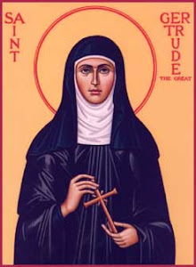 St. Gertrude The Great -- Prayer for Souls in Purgatory