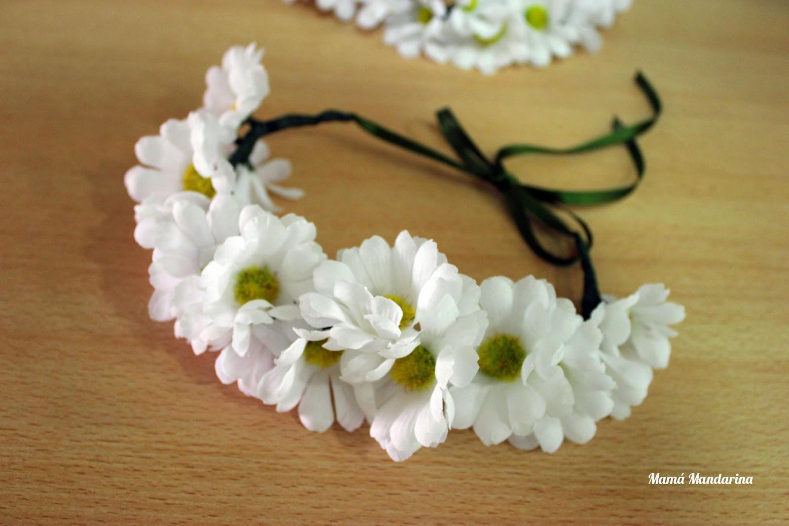 Mam mandarina coronas de flores hechas a mano for Coronas de navidad hechas a mano