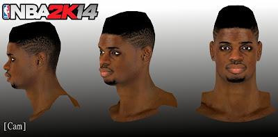 NBA 2K14 Nerlens Noel Cyberface Mod