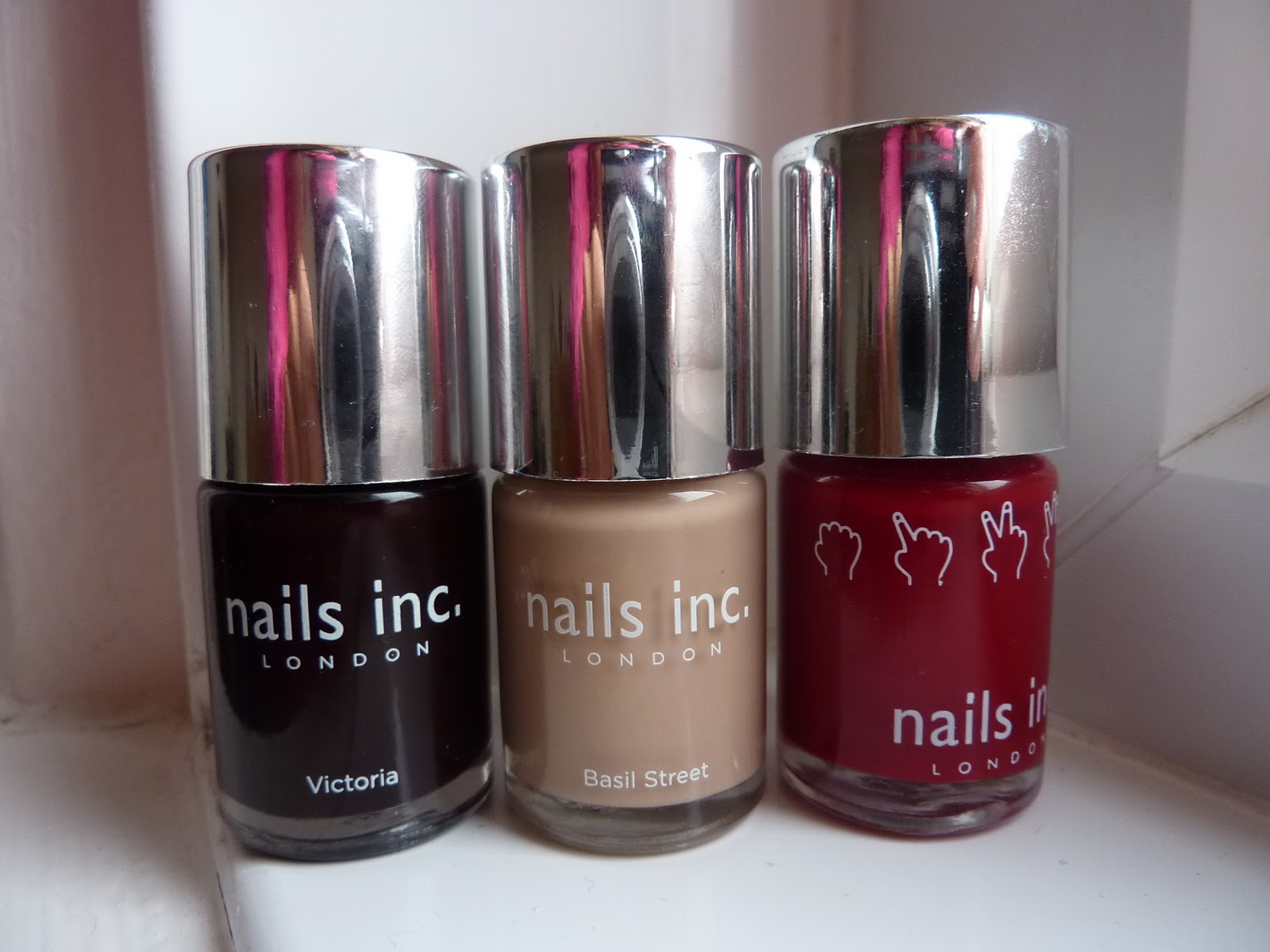 BEAUTY & LE CHIC: Free Nails Inc with Glamour Magazine