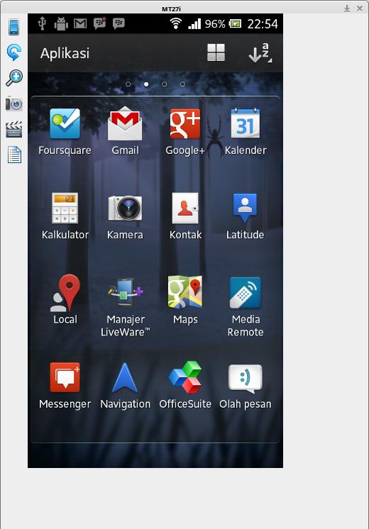 Menampilkan Layar Android Ke Komputer