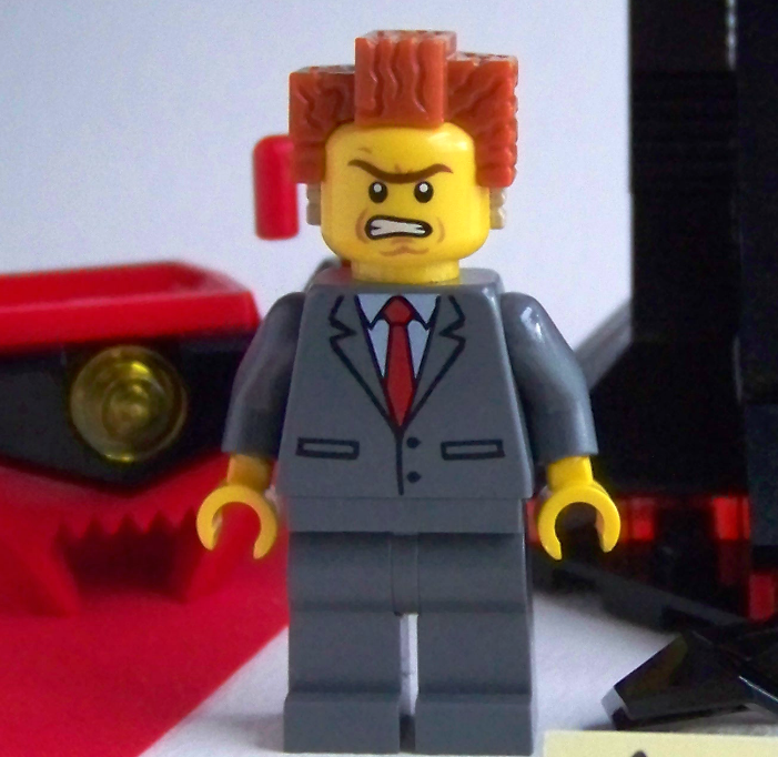 LEGO President Business minifigure 70809