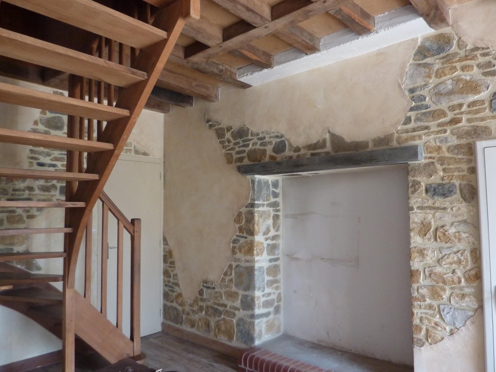 Chamboultou decor fausses pierres en relief fabrication for Fausses pierres murales