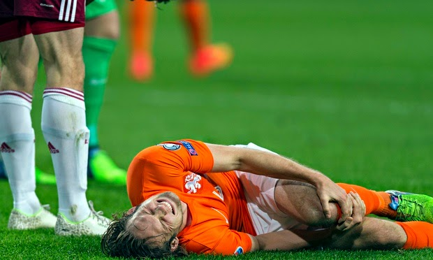 Manchester United injury update: Di María, Rooney & Blind