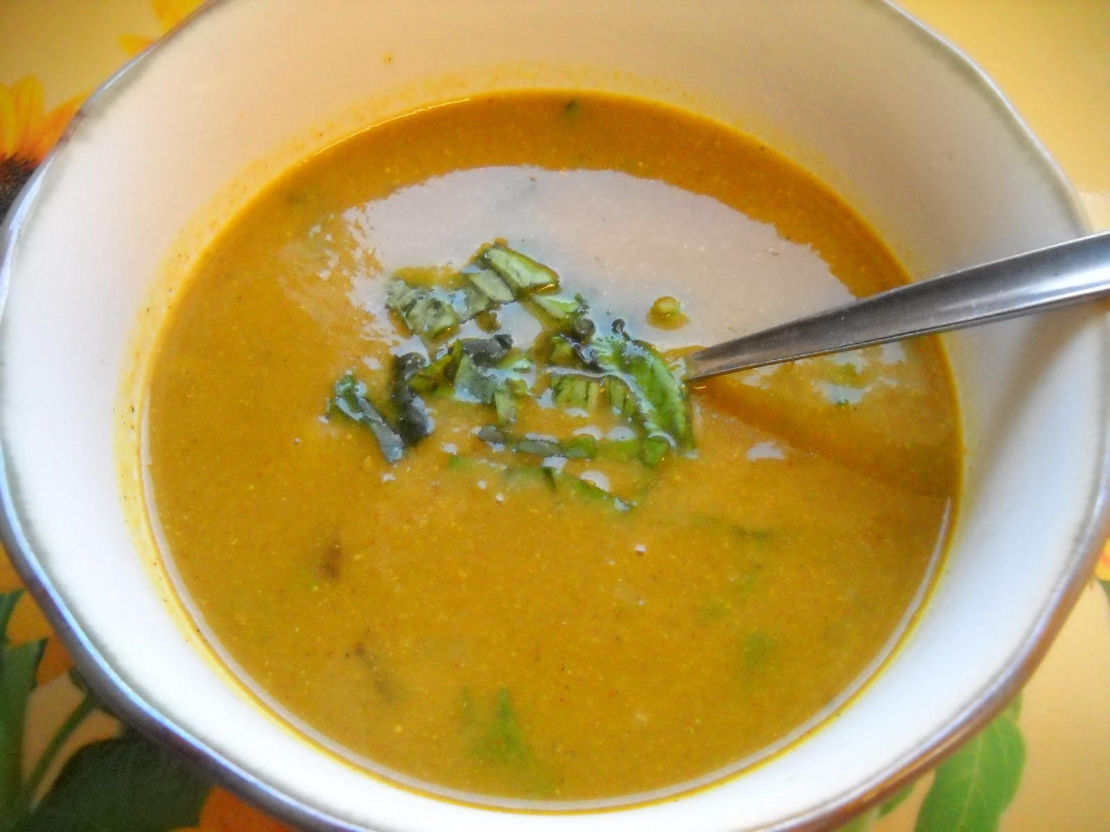 Vegan Creamy Curried Pumpkin Soup Recipe — Dishmaps