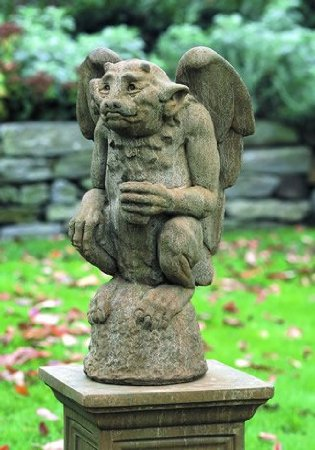 The Gargoyle Sits Best At The Front Of Your Home Where It Can Keep A  Watchful Eye. Each Day As You Walk Past Your Gargoyle, Thank It For  Protecting Your ...