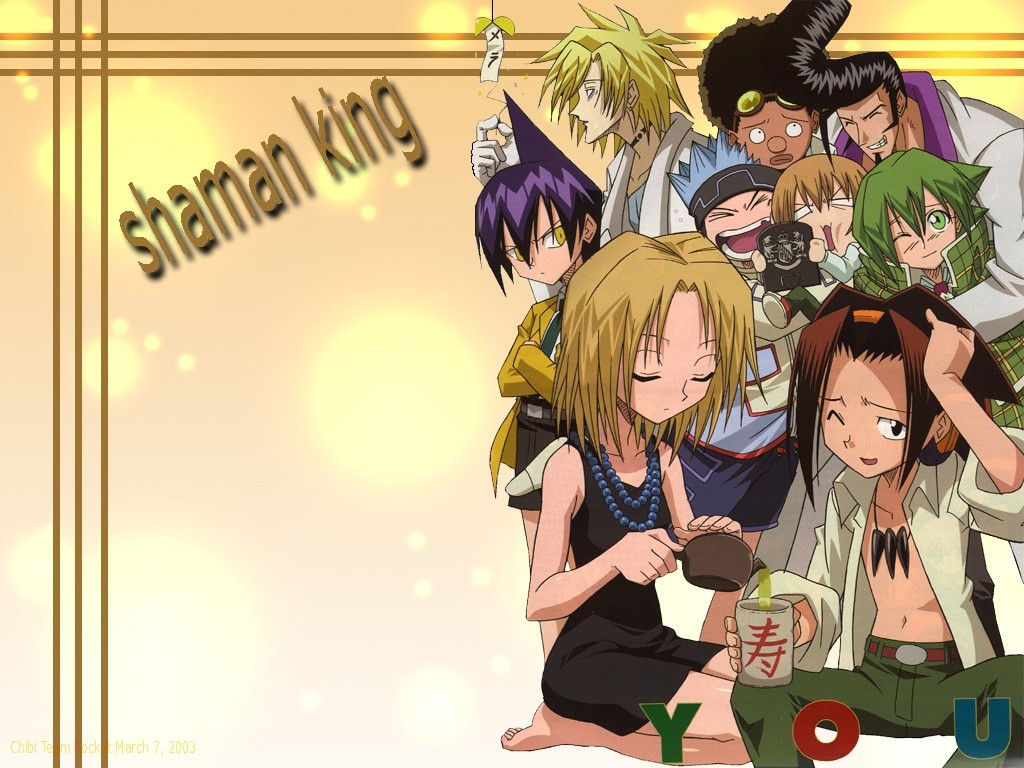 Image Result For Anime Picture Of Shaman King