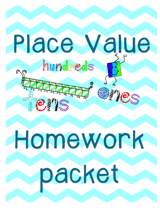 http://www.teacherspayteachers.com/Product/Place-Value-Homework-Packet-Common-Core-Aligned-793382