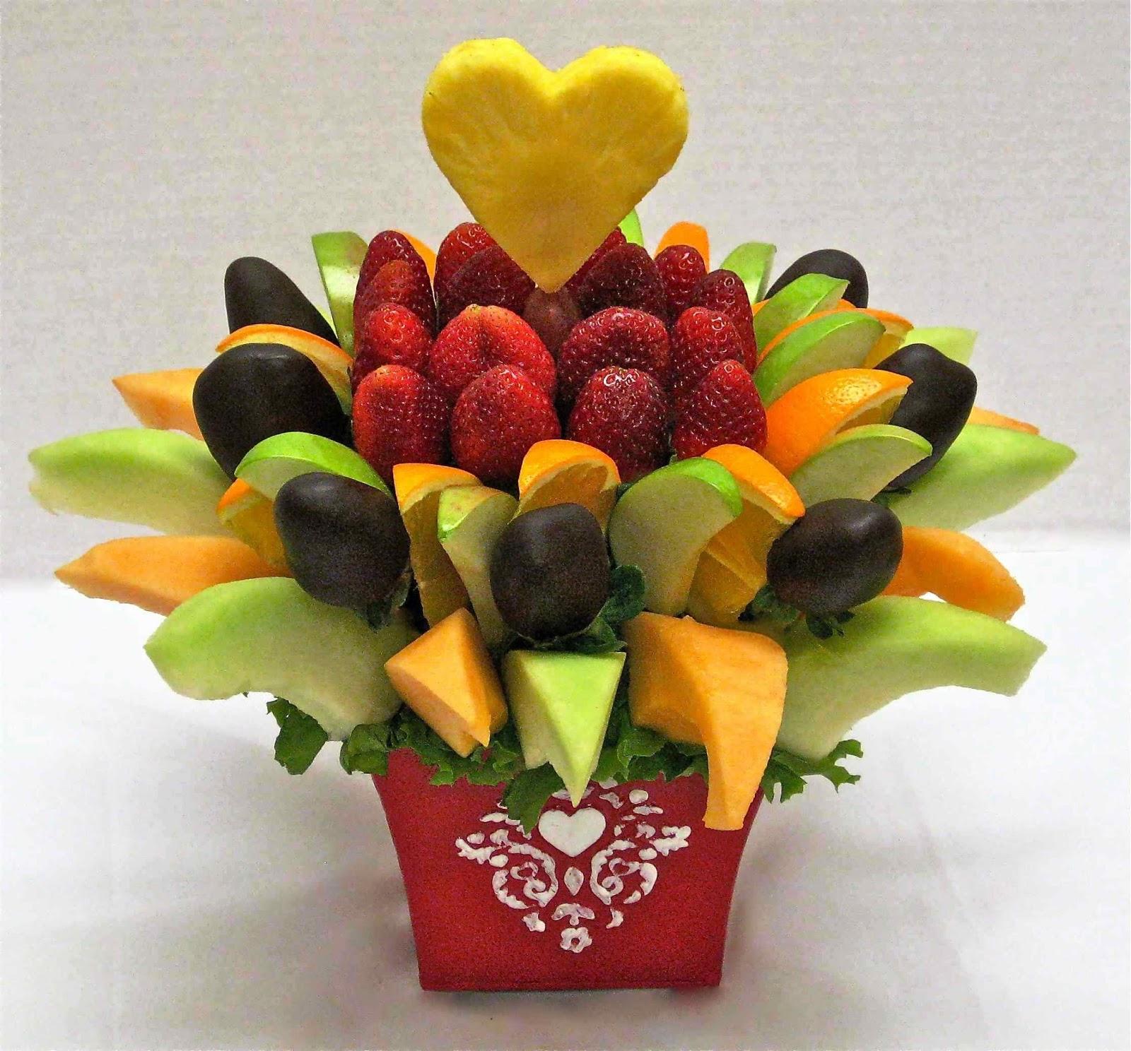 Fruit arrangement ideas craft art