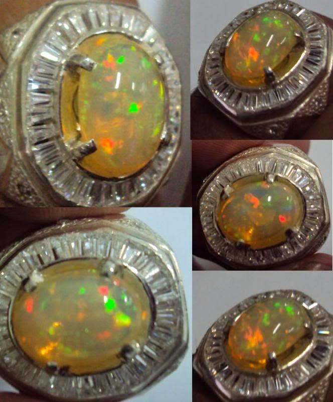 Cara merawat batu akik kali maya black opal