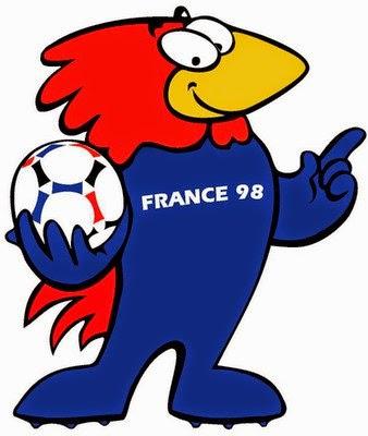 Las Mascotas de los Mundiales de Futbol