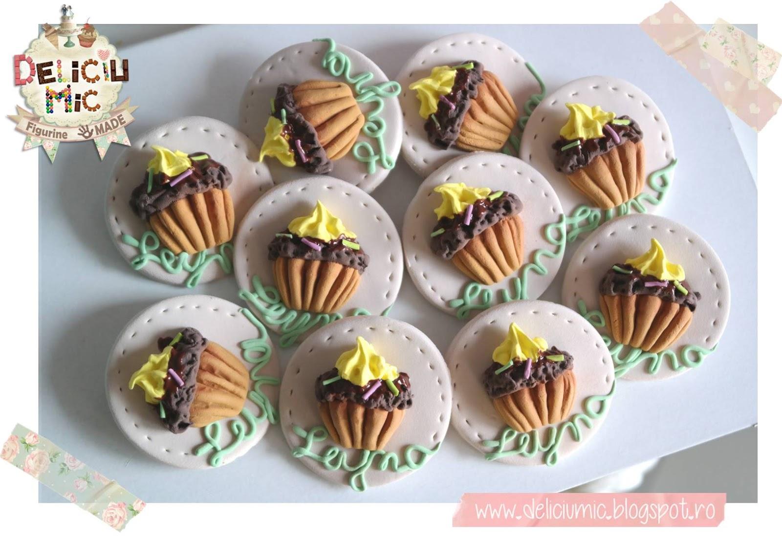 marturii de botez cupcake