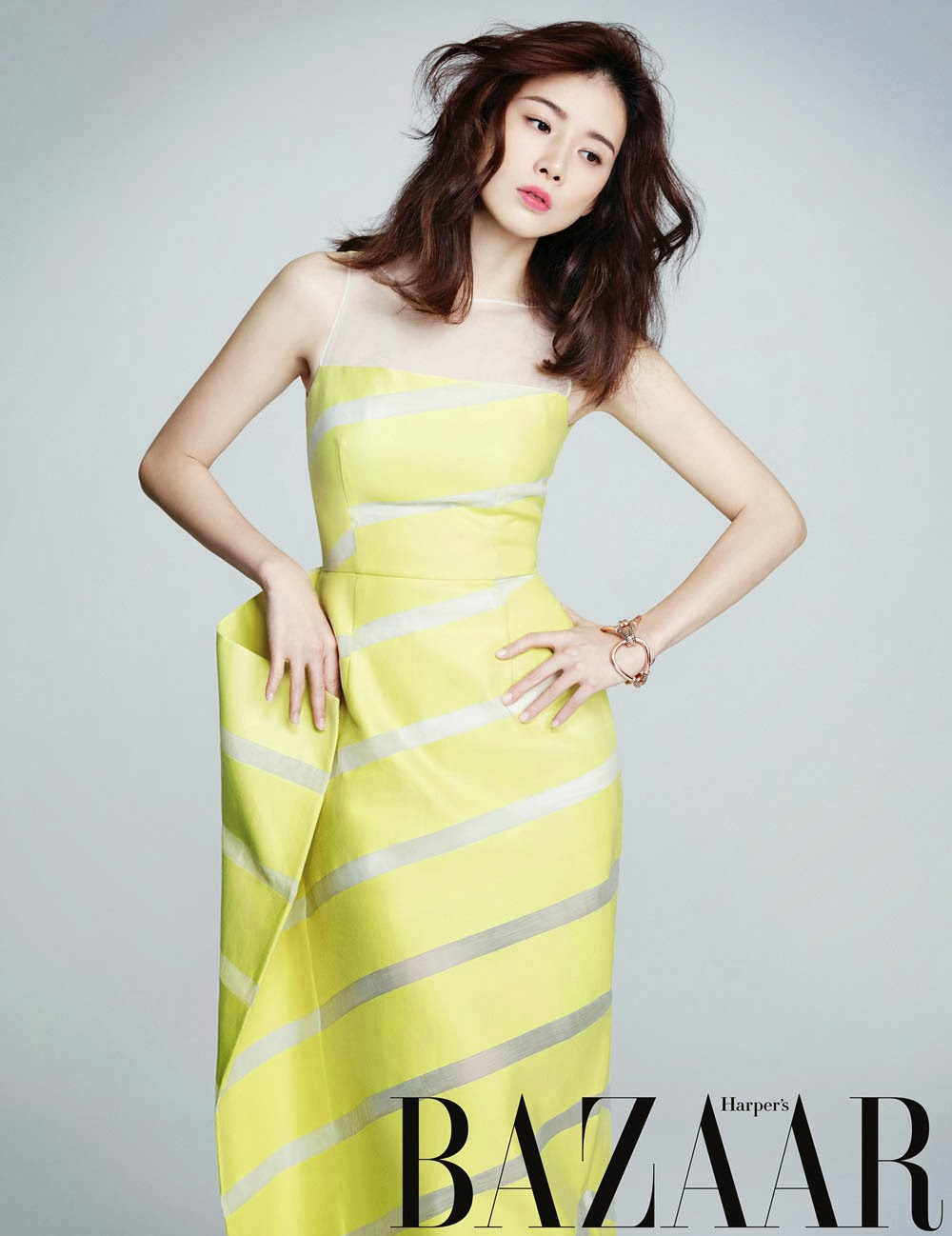 Lee Bo Young - Harper's Bazaar Magazine March Issue 2014