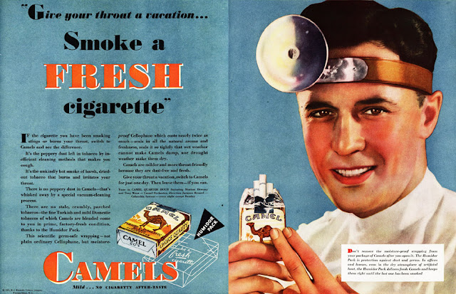 Advertisement for smoking