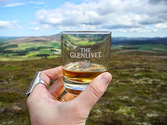Gastronomista Speyside Scotland with The Glenlivet
