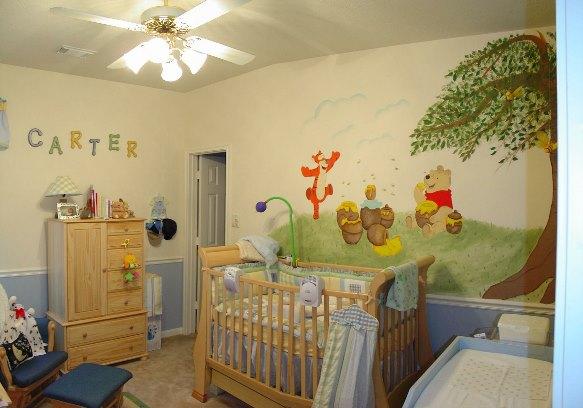 احدث ديكورات والوان غرف نوم اطفال 2013