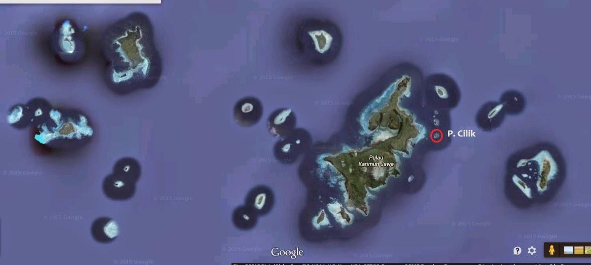 lokasi pulau cilik karimunjawa