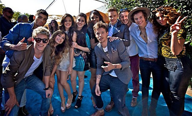 Uk fifth harmony and one direction 5hfanboys fifth harmony updates im not sure if there are any other moments throughout 2014 where they met up with the guys but ill just skip to 2015 to give you all the juicy bits of m4hsunfo