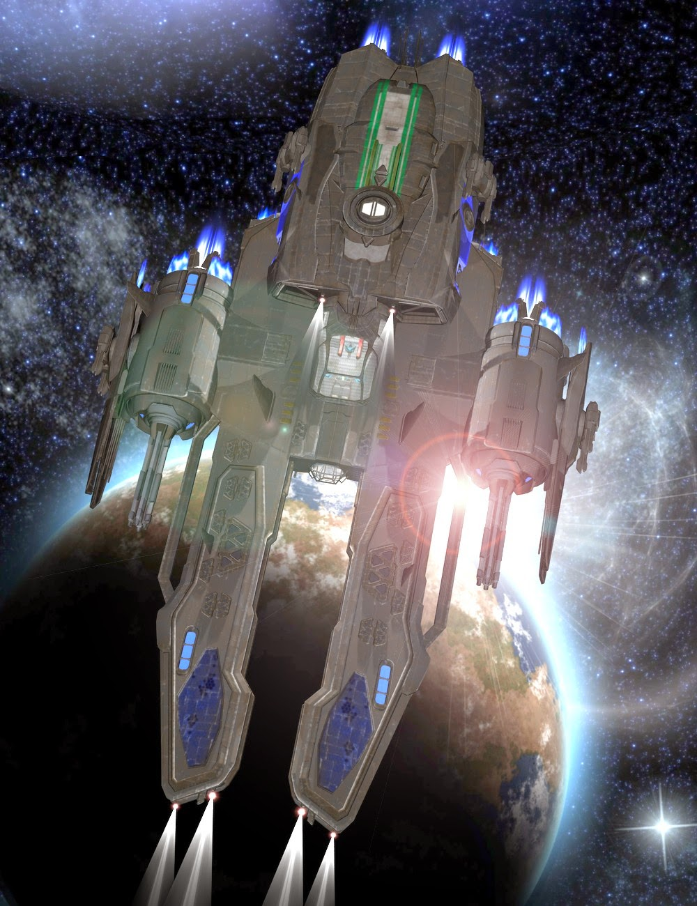 UEF Arachnid Class Escort Destroyer