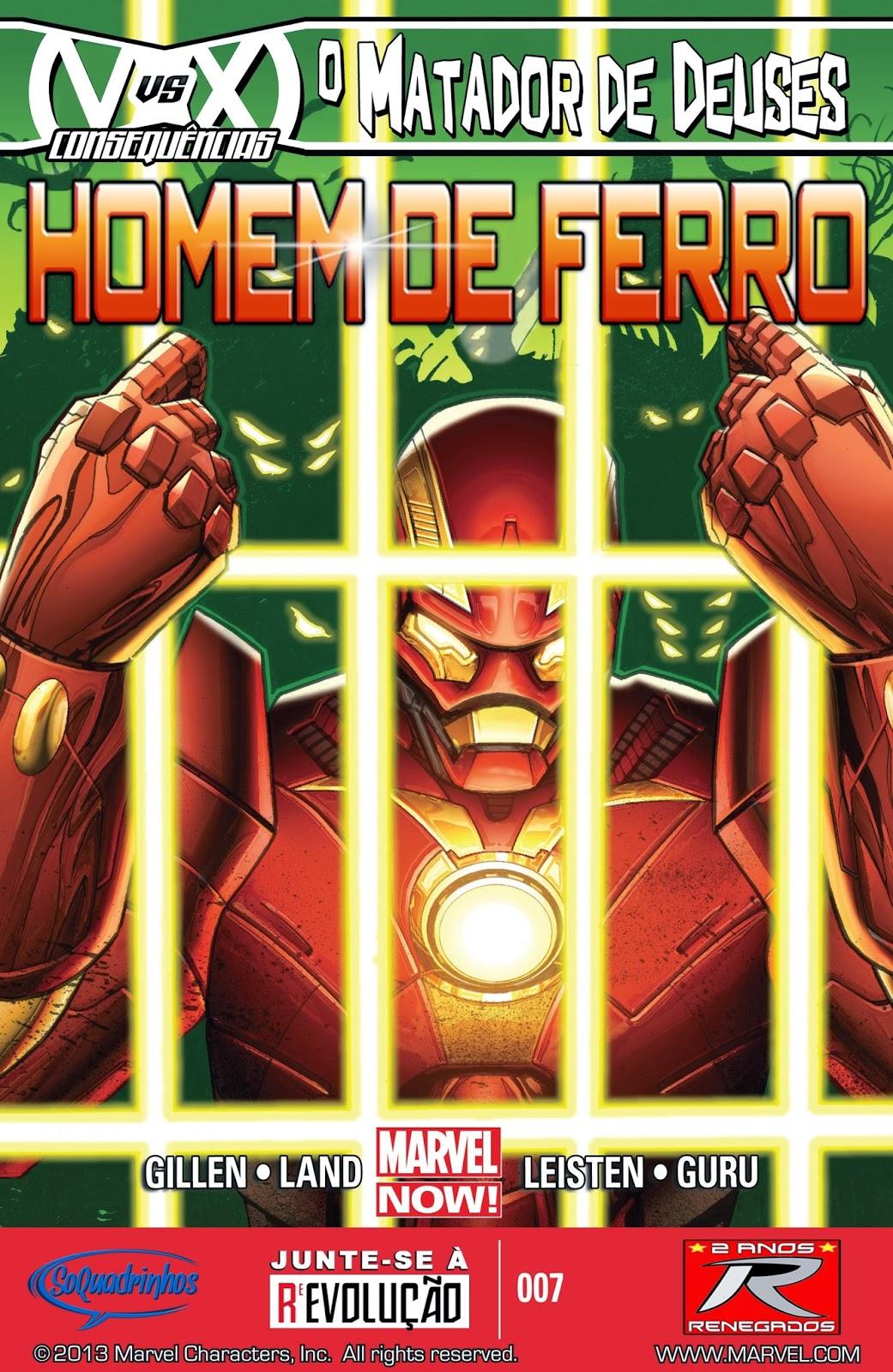Nova Marvel! Homem de Ferro v6 #7
