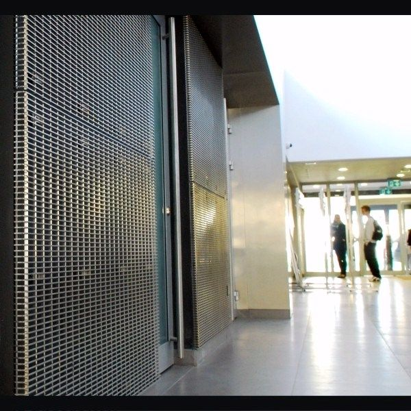 Metal Screen Wall : Decorative metal screen panels