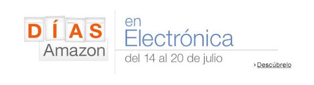 Ofertas flash días Amazon en electrónica 16 de julio 2014