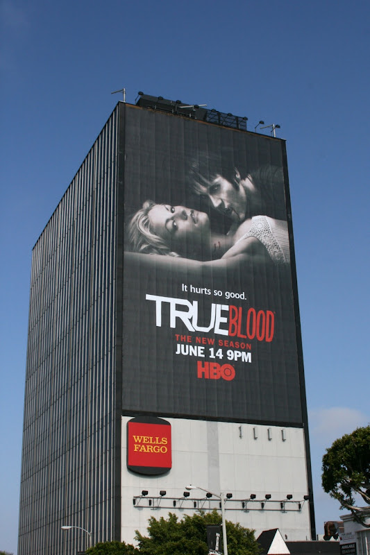 True Blood season 2 HBO billboard