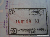 The elusive Luxembourg passport stamp