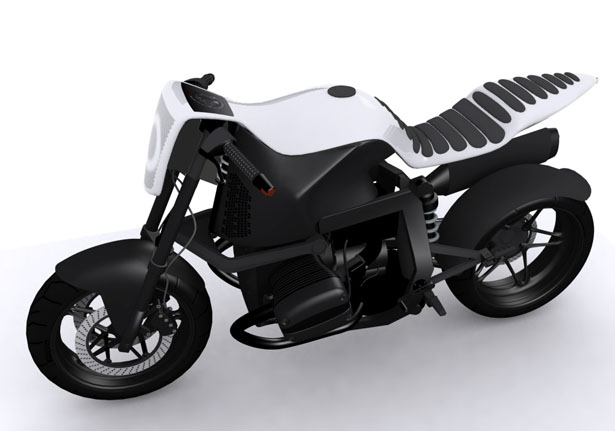BMW 1150R Boxer Concept Bike | Concept Motorcycle | Boxer naked bike concept Stefan Toth